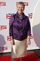 LOS ANGELES - FEB 24:  The British Consul General Dame Barbara Hay arrives at the GREAT British Film Reception at the British Consul General's Residence on February 24, 2012 in Los Angeles, CA.