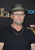 LOS ANGELES, CA. October 20, 2016: Michael Rooker at the world premiere of Marvel Studios' &quot;Doctor Strange&quot; at the El Capitan Theatre, Hollywood.<br /> Picture: Paul Smith/Featureflash/SilverHub 0208 004 5359/ 07711 972644 Editors@silverhubmedia.com