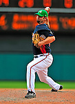 17 March 2009: Atlanta Braves' pitcher Buddy Carlyle on the mound during a Spring Training game against the New York Mets at Disney's Wide World of Sports in Orlando, Florida. The Braves defeated the Mets 5-1 in the Saint Patrick's Day Grapefruit League matchup. Mandatory Photo Credit: Ed Wolfstein Photo