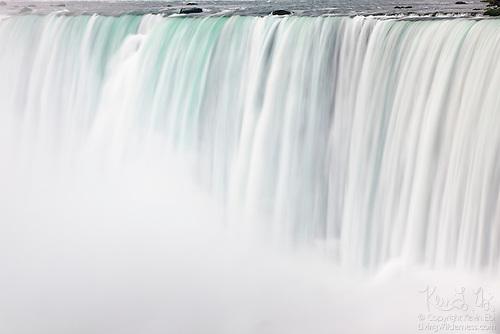 Horseshoe Falls Dropping into Mist, Niagara Falls