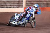 Heat 8: Stuart Robson of Lakeside - Lakeside Hammers vs Wolverhampton Wolves - Elite League Speedway at Arena Essex Raceway - 16/05/11 - MANDATORY CREDIT: Gavin Ellis/TGSPHOTO - Self billing applies where appropriate - Tel: 0845 094 6026