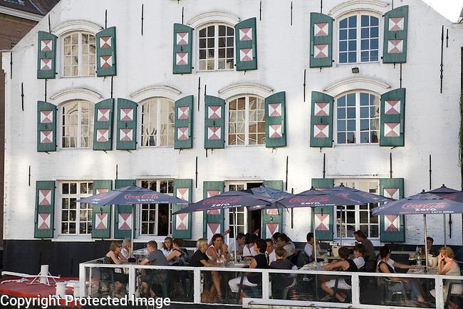 Riverside Bar in Lier, Belgium; Europe