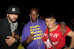 "Pakarmz, Keith Murray and Jerle ""Harlem Matriarch"" Moore Attend Nas & Damian Marley at Central Park SummerStage, NY 8/11/11"