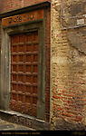 Studded Door, Isletia, Via di Stalloreggi, Siena, Italy