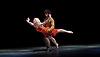 Transfigured Night<br /> Choreography by Kim Brandstrup<br /> at Sadler&rsquo;s Wells, London, Great Britain <br /> press photocall / rehearsal <br /> 3rd November 2015 <br /> <br /> Music by Arnold Schoenberg - Verkl&auml;rte Nacht<br /> Designed by Chloe Lamford<br /> Lighting design by Fabiana Piccioli<br /> <br /> Dancers: Miguel Altunaga &amp; Simone Damberg W&uuml;rtz<br /> <br /> Image licensed to Elliott Franks Photography Services