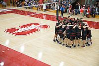 Stanford Volleyball M vs BYU, February 24, 2017