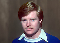 Davy Nixon, footballer, Linfield FC, Belfast, N Ireland, January, 1982, 198201000003DN<br /> <br /> Copyright Image from Victor Patterson, 54 Dorchester Park, Belfast, UK, BT9 6RJ<br /> <br /> Tel: +44 28 9066 1296<br /> Mob: +44 7802 353836<br /> Voicemail +44 20 8816 7153<br /> Skype: victorpattersonbelfast<br /> Email: victorpatterson@me.com<br /> Email: victor@victorpatterson.com<br /> <br /> IMPORTANT: If you wish to use this image or any other of my images please go to www.victorpatterson.com and click on the Terms &amp; Conditions. Then contact me by email or phone with the reference number(s) of the image(s) concerned.