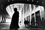 World Trade Center .South Tower Lobby.November 1975..2002 © Alon REININGER / CONTACT Press Images