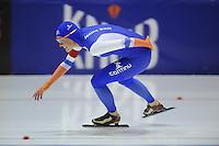 SCHAATSEN: HEERENVEEN: 04-10-2014, IJsstadion Thialf, Trainingswedstrijd, Janine Smit, ©foto Martin de Jong