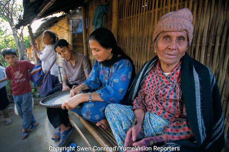 Under UNHCR protection, the life of 135000 Bhutanese refugees in one of the 7 camp near Damak, Nepal..-The full text reportage is available on request in Word format