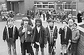 In the playground, Julian's Primary School, Streatham, London.  1971.