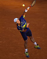 Fernando VERDASCO (ESP) against Albert MONTANES (ESP) in the Quarter Finals. Fernando Verdasco beat Albert Montanes 6-3 6-7 6-0..International Tennis - 2010 ATP World Tour - Masters 1000 - Monte-Carlo Rolex Masters - Monte-Carlo Country Club - Alpes-Maritimes - France..© AMN Images, Barry House, 20-22 Worple Road, London, SW19 4DH.Tel -  + 44 20 8947 0100.Fax - + 44 20 8947 0117