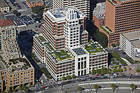 aerial photograph The Gap Headquarters Embarcadero San Francisco designed by Robert A. M. Stern Architects and Gensler