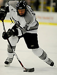1 December 2007: Providence College Friars' forward Jordan Kremyr, a Freshman from Cloverdale, BC, in action against the University of Vermont Catamounts at Gutterson Fieldhouse in Burlington, Vermont. The Friars defeated the Catamounts 4-0 in front of a capacity crowd of 4003, for the 64th consecutive sell-out at Gutterson...Mandatory Photo Credit: Ed Wolfstein Photo