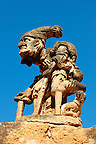 Villa; Palagonia; Bagheria; Sicily; Grotesque Pictures, photos, images & fotos