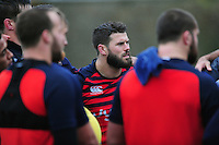 Guy Mercer of Bath Rugby looks on. Bath Rugby training session on November 22, 2016 at Farleigh House in Bath, England. Photo by: Patrick Khachfe / Onside Images