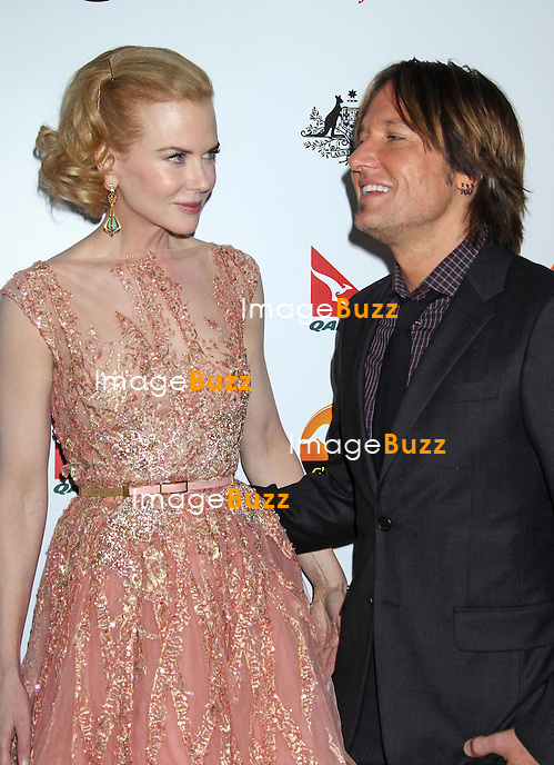 Nicole Kidman, Keith Urban, The 2013 G'Day USA Los Angeles Black Tie Gala at the JW Marriott at L.A. LIVE in (Los Angeles, CA.).January 12, 2013.