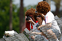 May 23, 2010 - Le Mans, France - Marco Simoncelli's fans are pictured during the French Grand Prix at Le Mans, France, on May 21, 2010. (Photo Andrew Northcott/Nippon News)..