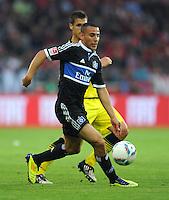 Fussball 1. Bundesliga :  Saison   2011/2012   Liga Total Cup  20.07.2011 Borussia Dortmund - Hamburger SV Aenis Ben - Hatira (Hamburger SV)