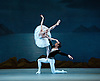 Konstantin Sergryev&rsquo;s Swan Lake based on Petipa &amp; Ivanov&rsquo;s great masterpiece.<br /> <br /> Swan Lake by the <br /> Mariinsky Ballet at the Royal Opera House, Covent Garden, London, Great Britain <br /> 1st August 2014 <br /> Press photocall<br /> for 1st and 2nd casts<br /> <br /> 1st night <br /> Oxana Skorik as Odette / Odile<br /> Timur Askerov as Prince Siegfried<br /> <br /> 2nd night <br /> Yulia Stepanova as Odette / Odile <br /> Xander Parish as Prince Siegfried<br /> <br /> cygnets<br /> <br /> Anastasia Asaben<br /> Oxana Marchuk<br /> Anastasia Mikhelkina<br /> Elena Firsova<br /> <br /> Andrei Yermakov as Von Rothbart <br /> <br /> photograph by Elliott Franks