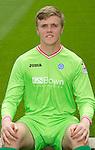 St Johnstone FC...Season 2011-12.Zander Clark.Picture by Graeme Hart..Copyright Perthshire Picture Agency.Tel: 01738 623350  Mobile: 07990 594431