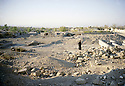 Irak 2000 Quartier de Halabja en ruines. Iraq 2000. District of Halabja in ruins