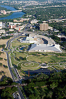 Long Center for the Perfoming Arts and Palmer Events Center, Austin, TX aerial.
