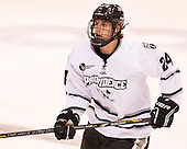 Noel Acciari (PC - 24) - The Providence College Friars tied the visiting Boston College Eagles 3-3 on Friday, December 7, 2012, at Schneider Arena in Providence, Rhode Island.