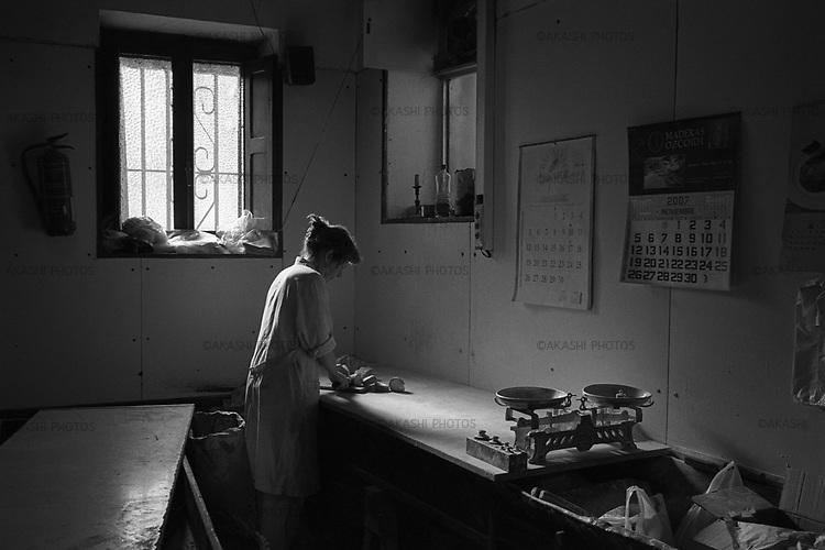 Burgu�, Navarra.A traditional bakery in Burgu�, Navarra, Spain..ゥToru Morimoto
