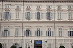 Facade of the Royal Palace, Turin - Torino, Italy