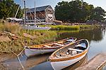 The Essex Shipbuilding Museum in Essex, MA, USA