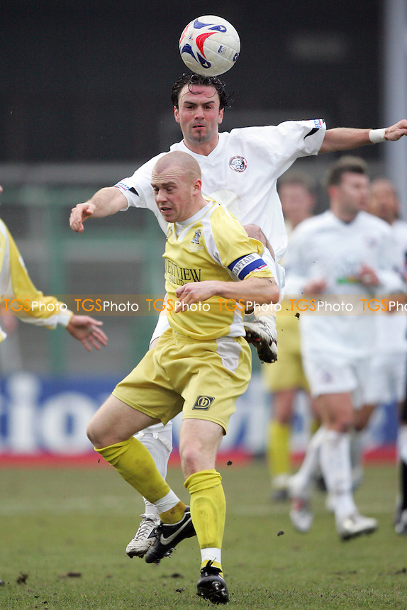 Hereford United 0 Grays Athletic 1 - FA Trophy 3rd Round - 04/02/06 - Grays progress to the Quarter-Finals at Edgar Street - (Gavin Ellis 2006)