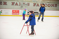 Skate with the Falcons at W.H. Hunt Arena Saturday Feb 15, 2014.<br /> <br /> <br /> Kathy M Helgeson/UWRF Communications