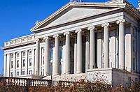 US Treasury Building<br /> Washington DC Architecture