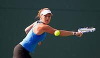 Agnieszka RADWANSKA (POL) against Yaroslava SHVEDOVA (KAZ) in the third round of the women's singles. Agnieszka Radwanska beat Yaroslava Shvedova 6-1 6-4..International Tennis - 2010 ATP World Tour - Sony Ericsson Open - Crandon Park Tennis Center - Key Biscayne - Miami - Florida - USA - Mon 29th Mar 2010..© Frey - Amn Images, Level 1, Barry House, 20-22 Worple Road, London, SW19 4DH, UK .Tel - +44 20 8947 0100.Fax -+44 20 8947 0117