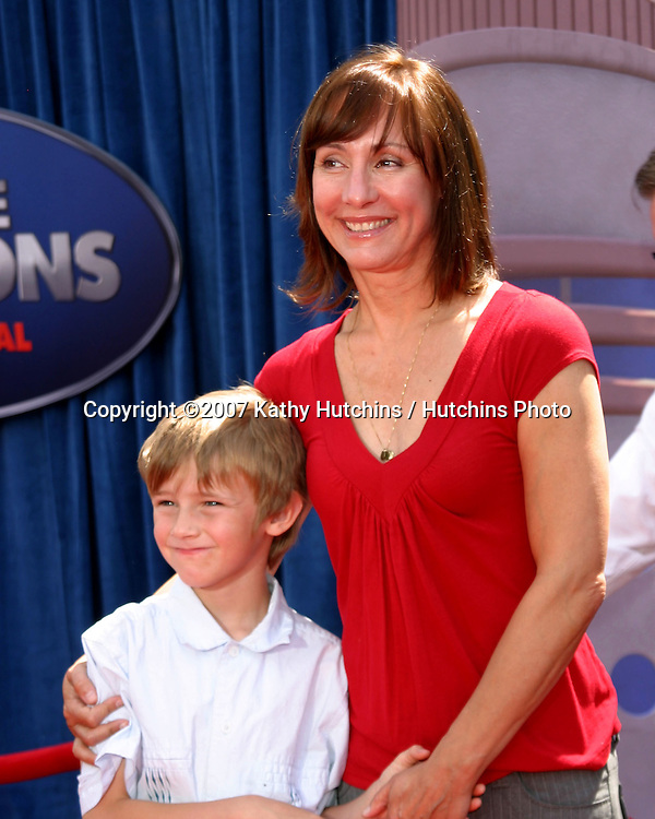 Laurie Metcalf son