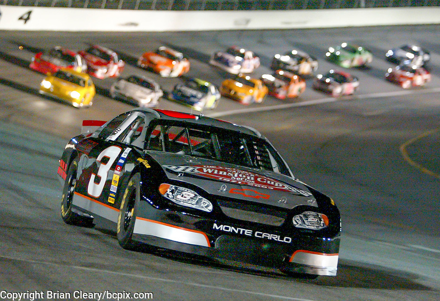 #3, Dale Earnhardt Tribute CarUAW-GM Quality 500, Charlotte Motor Speedway, Charlotte, NC, October 11, 2003.  (Photo by Brian Cleary/bcpix.com)