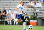 19 August 2012: Duke's Kaitlyn Kerr. The Duke University Blue Devils defeated the Elon University Phoenix 8-0 at Koskinen Stadium in Durham, North Carolina in a 2012 NCAA Division I Women's Soccer game.