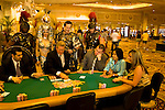 Nevada, Caesars Palace and Casino, gaming, gambling, poker, model released, NV, Las Vegas, Caesar, Palace Guards, Cleopatra actor, Photo nv205-17193..Copyright: Lee Foster, www.fostertravel.com, 510-549-2202,lee@fostertravel.com
