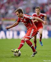 Fussball  1. Bundesliga  Saison 2013/2014  9. Spieltag FC Bayern Muenchen - 1. FSV Mainz     19.10.2013 Mario Goetze (FC Bayern Muenchen) am Ball
