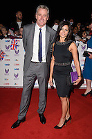 LONDON, UK. October 31, 2016: Mark Austin &amp; Lucy Verasamy at the Pride of Britain Awards 2016 at the Grosvenor House Hotel, London.<br /> Picture: Steve Vas/Featureflash/SilverHub 0208 004 5359/ 07711 972644 Editors@silverhubmedia.com