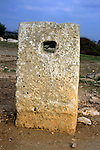 Europe, Mediterranean, Cyprus, Limassol, Kourion. A relic of the ancient Agora.