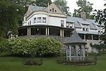 garden gazebo, Eagles Mere, PA.Mc Dermitt residence