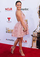 PASADENA, CA, USA - OCTOBER 10: Tracy Perez arrives at the 2014 NCLR ALMA Awards held at the Pasadena Civic Auditorium on October 10, 2014 in Pasadena, California, United States. (Photo by Celebrity Monitor)