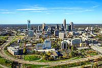 Charlotte North Carolina Skyline Aerials