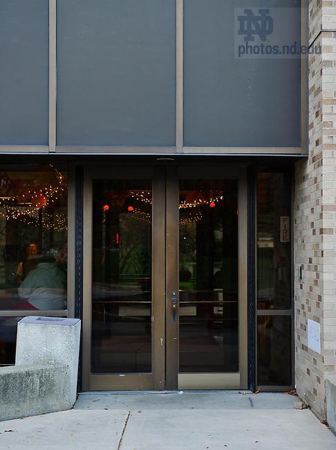 Oct. 11, 2012; Pasquerilla East Door..Photo by Matt Cashore/University of Notre Dame