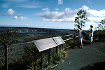 HI:  Hawaii Volcanoes National Park, Big Island, Kilauea Caldera   .Photo Copyright:  Lee Foster, lee@fostertravel.com, www.fostertravel.com, (510) 549-2202.Image: hivolc211