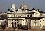 Sofia, Bulgaria. Parliament building.