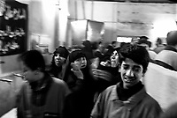 Baghdad, Iraq, March 28, 2003.Inside Moussa Khadoum mosque, families mourn the 52 victims of the unidentified missile that exploded at dusk in the middle of a crowded market in Al Shuala', a very poor area of North West Baghdad.