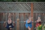 Children play during the Los Altos Hills Hoedown at Westwind Barn Sept. 8.<br />